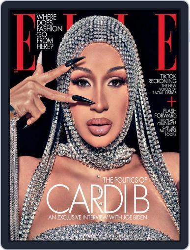 Elle (Digital) September 1st, 2020 Issue Cover