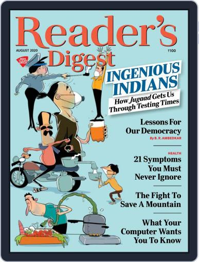 Reader's Digest India August 1st, 2020 Digital Back Issue Cover