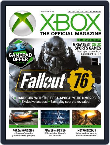 Official Xbox (Digital) December 1st, 2018 Issue Cover