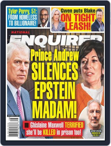 National Enquirer September 21st, 2020 Digital Back Issue Cover
