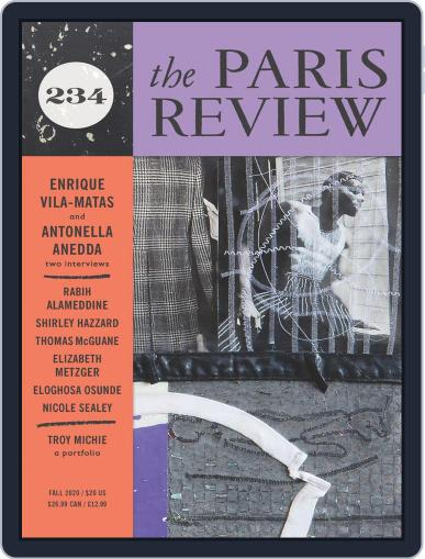The Paris Review (Digital) August 7th, 2020 Issue Cover