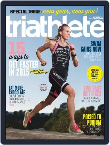 Triathlete Magazine (Digital) January 1st, 2015 Issue Cover