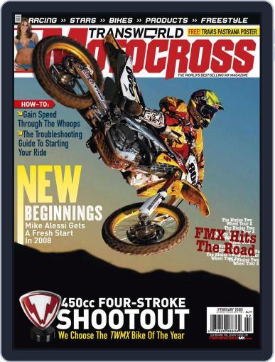 Transworld Motocross (Digital) December 22nd, 2007 Issue Cover