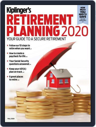 Kiplinger's Personal Finance August 25th, 2020 Digital Back Issue Cover