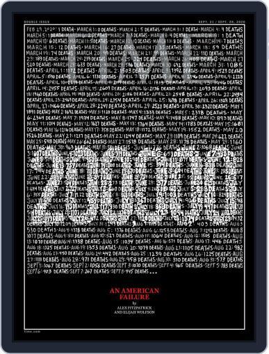 Time (Digital) September 21st, 2020 Issue Cover
