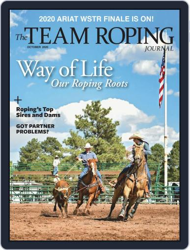 The Team Roping Journal October 1st, 2020 Digital Back Issue Cover
