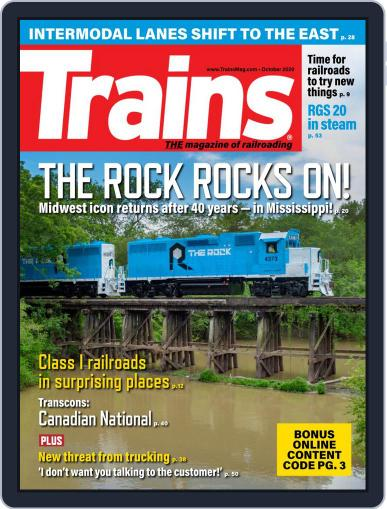 Trains (Digital) October 1st, 2020 Issue Cover