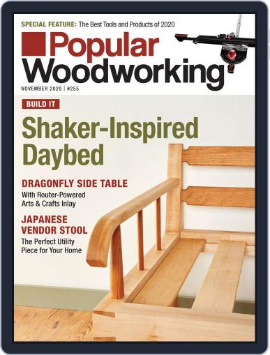 Popular Woodworking November 1st, 2020 Digital Back Issue Cover