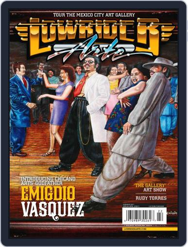 Lowrider Arte January 11th, 2011 Digital Back Issue Cover