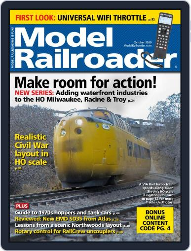 Model Railroader (Digital) October 1st, 2020 Issue Cover