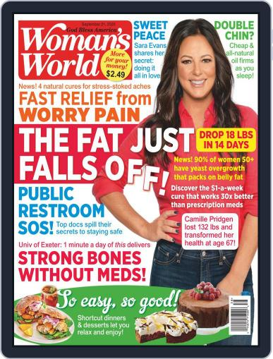 Woman's World September 21st, 2020 Digital Back Issue Cover