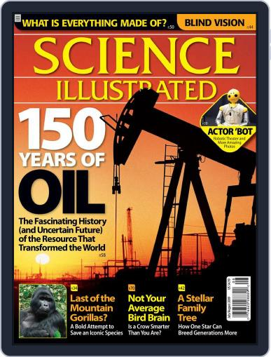 Science Illustrated June 15th, 2009 Digital Back Issue Cover