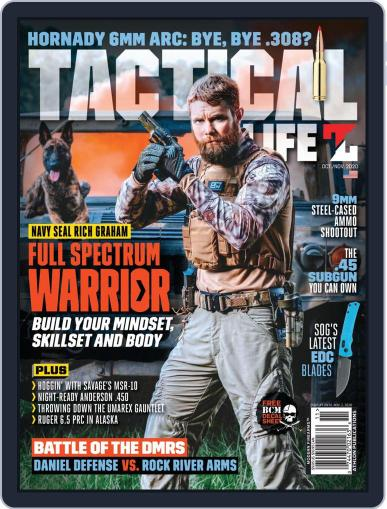 Tactical Life October 1st, 2020 Digital Back Issue Cover