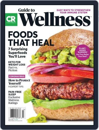 Guide to Wellness July 1st, 2020 Digital Back Issue Cover