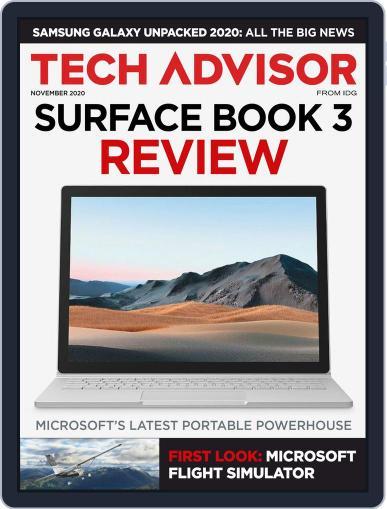 Tech Advisor November 1st, 2020 Digital Back Issue Cover