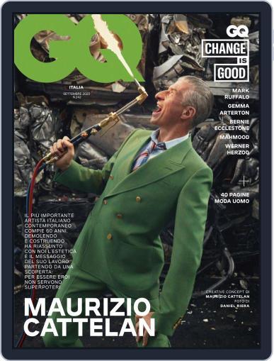 Gq Italia (Digital) September 1st, 2020 Issue Cover