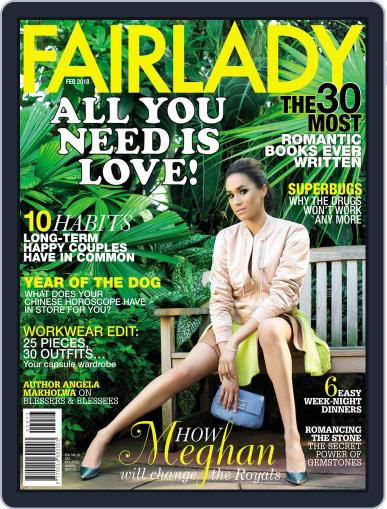 Fairlady South Africa (Digital) February 1st, 2018 Issue Cover