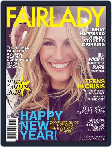 Fairlady South Africa (Digital) January 1st, 2018 Issue Cover