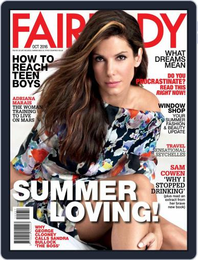 Fairlady South Africa (Digital) October 1st, 2016 Issue Cover
