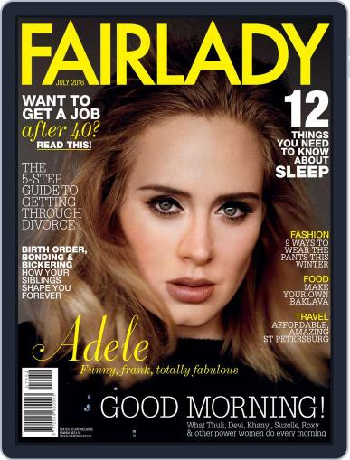 Fairlady South Africa (Digital) July 1st, 2016 Issue Cover