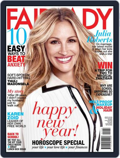 Fairlady South Africa January 1st, 2016 Digital Back Issue Cover