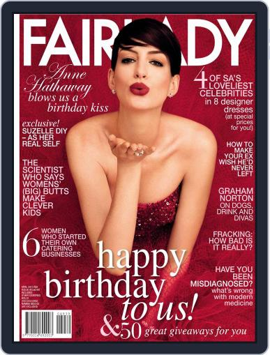 Fairlady South Africa (Digital) March 21st, 2015 Issue Cover