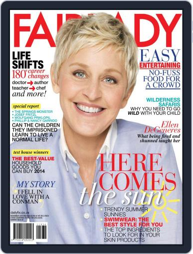 Fairlady South Africa October 15th, 2014 Digital Back Issue Cover