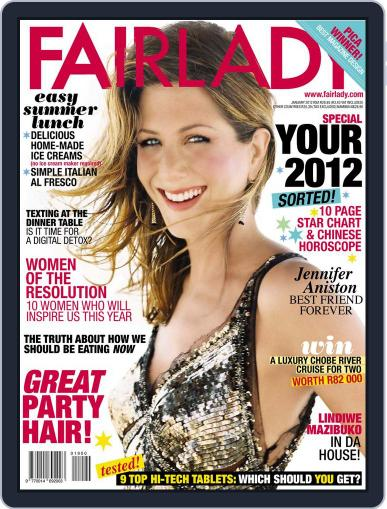 Fairlady South Africa (Digital) December 18th, 2011 Issue Cover