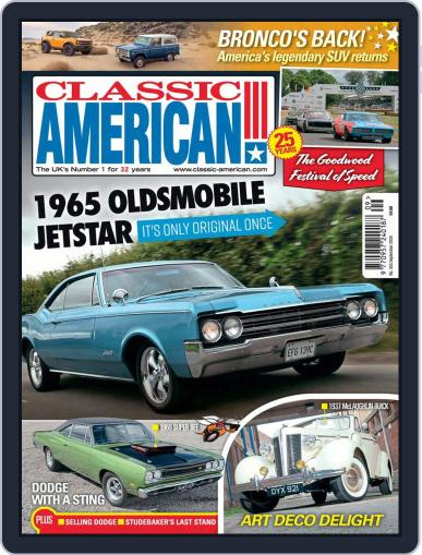 Classic American (Digital) September 1st, 2020 Issue Cover