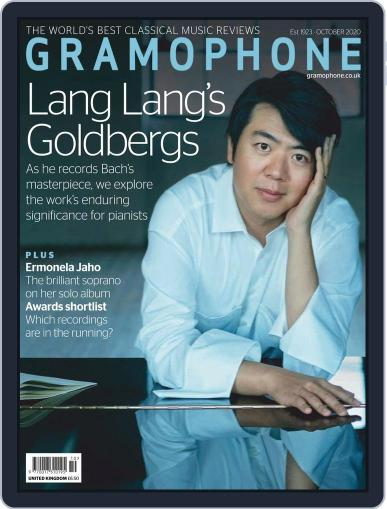 Gramophone (Digital) October 1st, 2020 Issue Cover