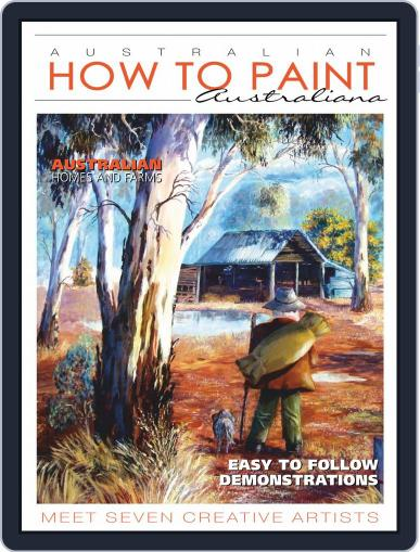 Australian How To Paint July 1st, 2020 Digital Back Issue Cover