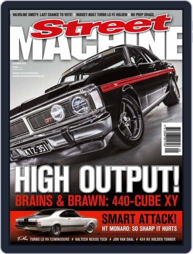 Street Machine October 1st, 2020 Digital Back Issue Cover