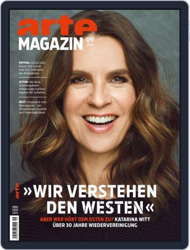 Arte Magazin September 1st, 2020 Digital Back Issue Cover
