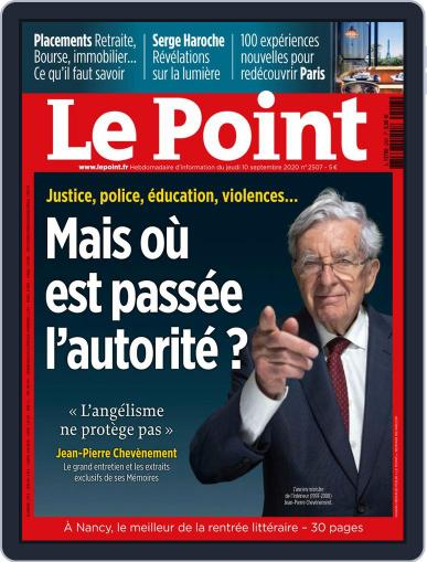 Le Point (Digital) September 10th, 2020 Issue Cover