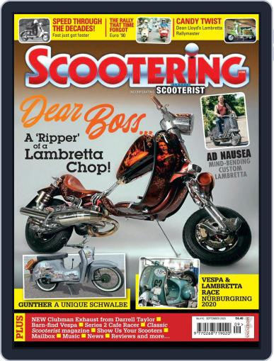 Scootering (Digital) September 1st, 2020 Issue Cover