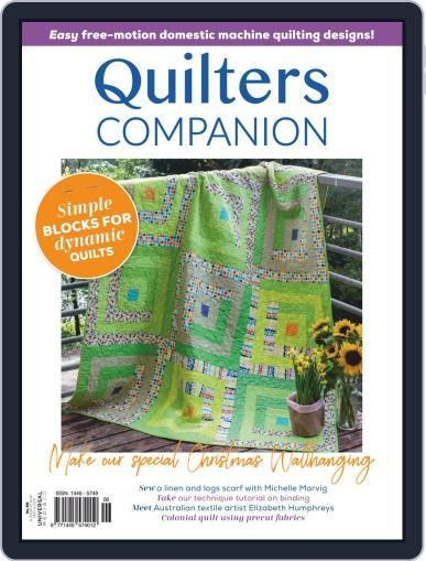 Quilters Companion (Digital) September 2nd, 2020 Issue Cover