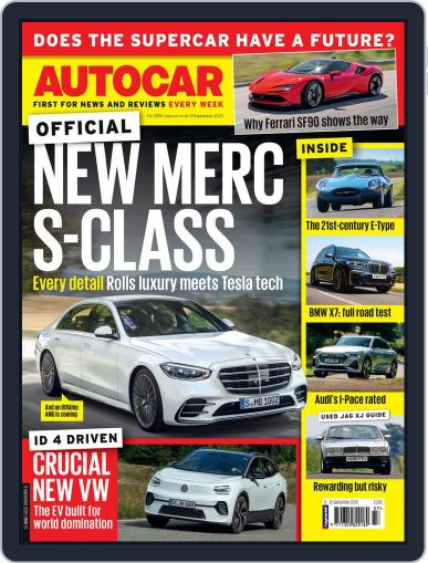 Autocar (Digital) September 9th, 2020 Issue Cover