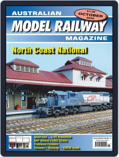 Australian Model Railway (Digital) October 1st, 2020 Issue Cover