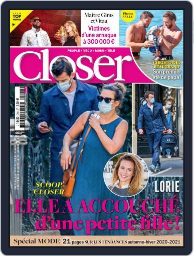 Closer France September 11th, 2020 Digital Back Issue Cover