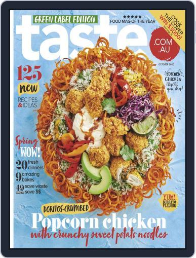 Taste.com.au (Digital) October 1st, 2020 Issue Cover