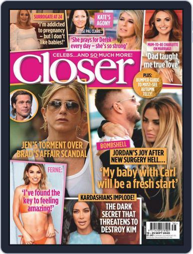 Closer September 19th, 2020 Digital Back Issue Cover