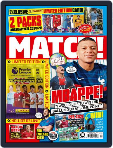 MATCH! (Digital) September 15th, 2020 Issue Cover