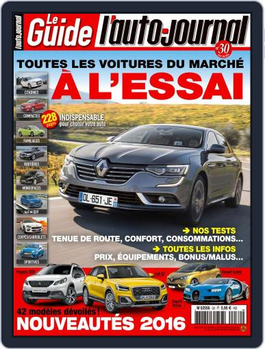 L'auto-journal acheteur (Digital) May 1st, 2016 Issue Cover
