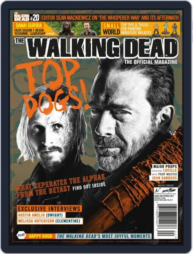 The Walking Dead United Kingdom April 1st, 2017 Digital Back Issue Cover