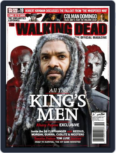 The Walking Dead United Kingdom January 1st, 2017 Digital Back Issue Cover