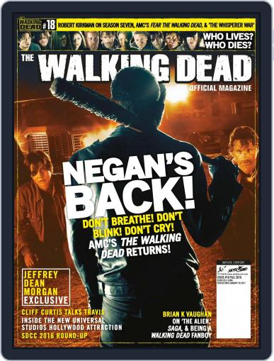 The Walking Dead United Kingdom (Digital) October 1st, 2016 Issue Cover