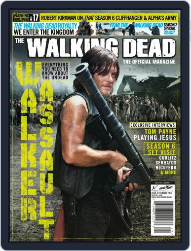 The Walking Dead United Kingdom July 1st, 2016 Digital Back Issue Cover