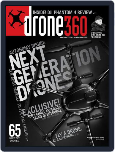 Drone 360 (Digital) April 22nd, 2016 Issue Cover