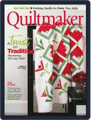 QUILTMAKER (Digital) Subscription November 1st, 2020 Issue