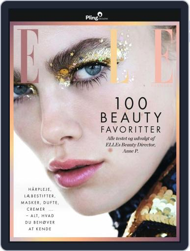 ELLE: 100 Beauty Favoritter Magazine (Digital) October 4th, 2019 Issue Cover